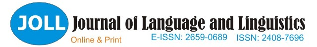 Journal of Language and Linguistics is a referred journal published by the Editorial Board, Nnamdi Azikiwe University, Faculty of Arts, Department of Modern European Languages, Awka, Anambra State, Nigeria. All views on conclusions contained in the journal are those of the authors of the articles. The opinions expressed are not in any sense, whatsoever, those of the Editorial board of this Journal.